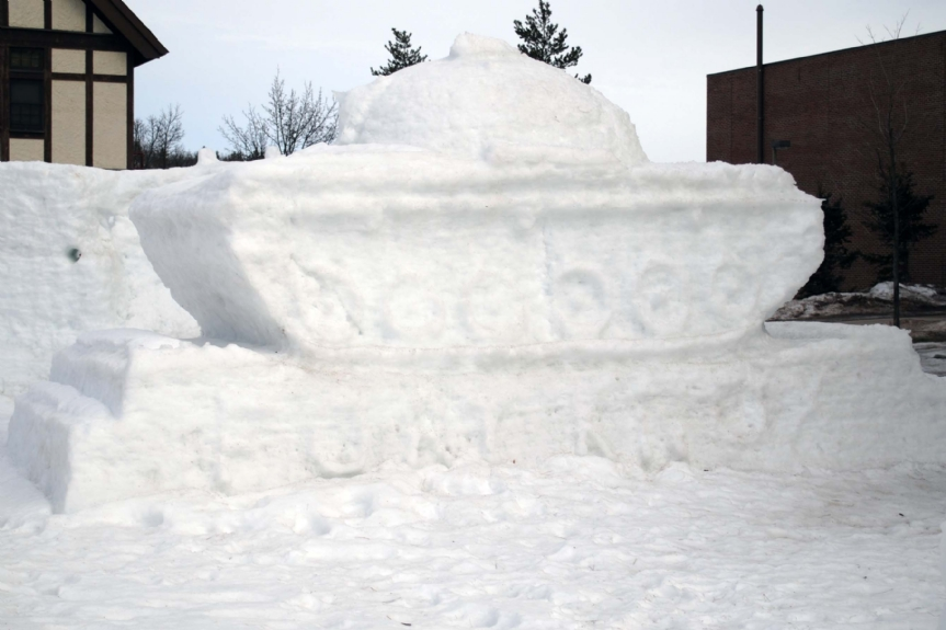 snow tank from ROTC