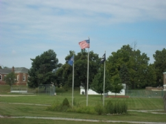 POW/MIA Flag at National Home for Children in Eaton Rapids