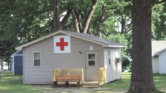 The 'state of the art' Medical First Aid Cottage