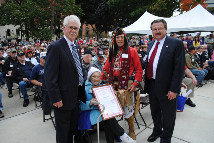 Morning Star gets a Proclamation from Rep. Mike Kowall
